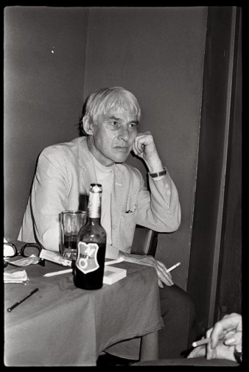 Artist Willem de Kooning. Photograph by Anton Perich