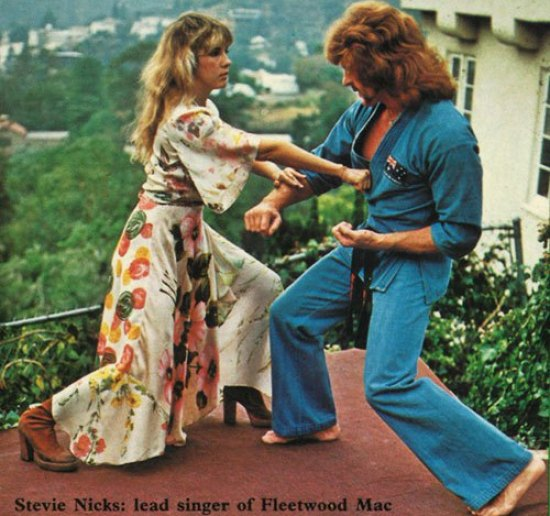 Fleetwood Mac Bob Jones stevie nicks Hands Off!- A Unique New System of Self Defence Against Assault for the Women of Today