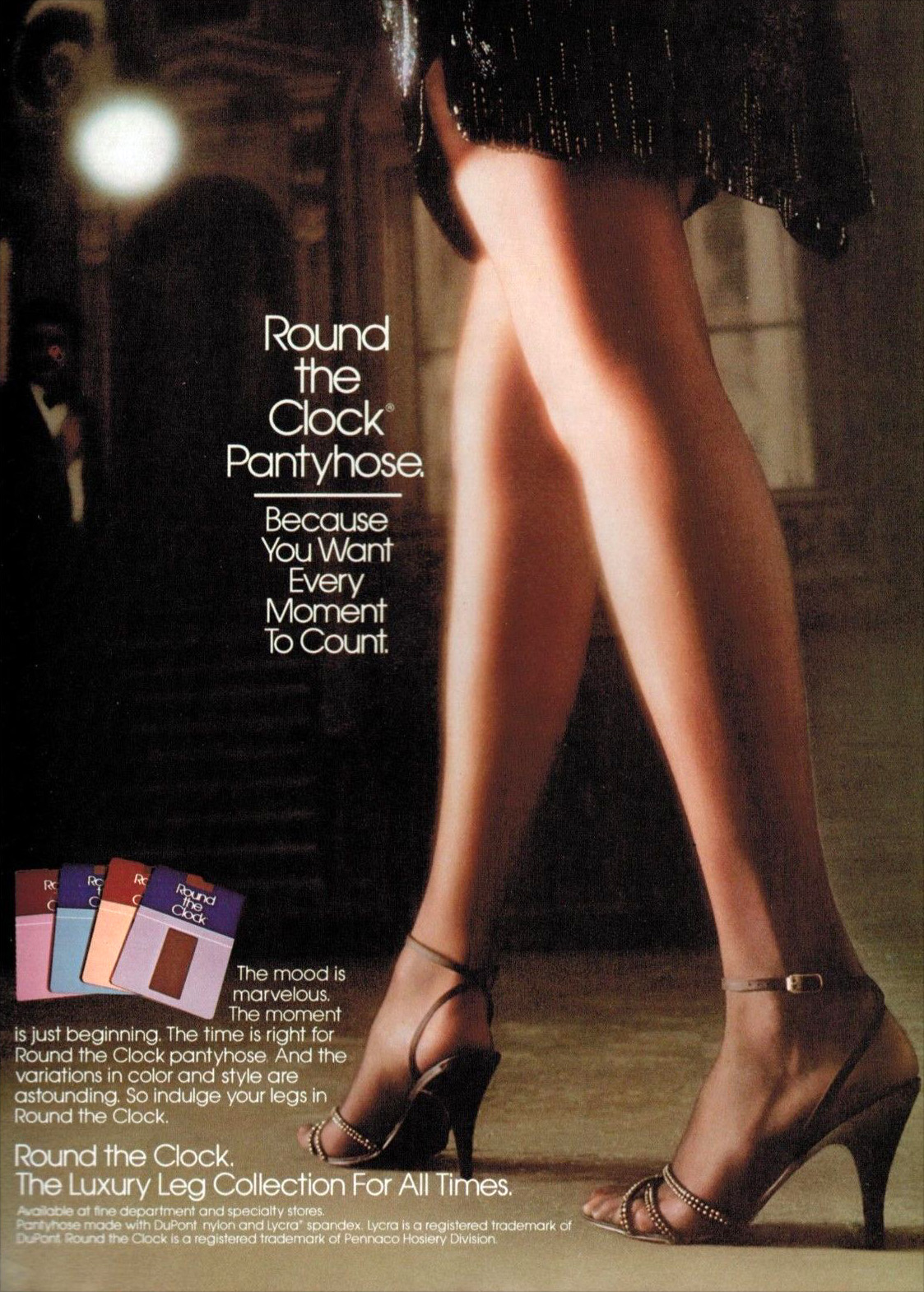 Hosiery to the Max Totally 80s Legwear Advertising