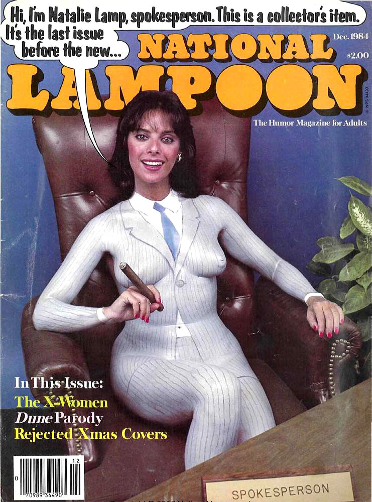 38 Amazing National Lampoon Covers from the 1980s  Flashbak