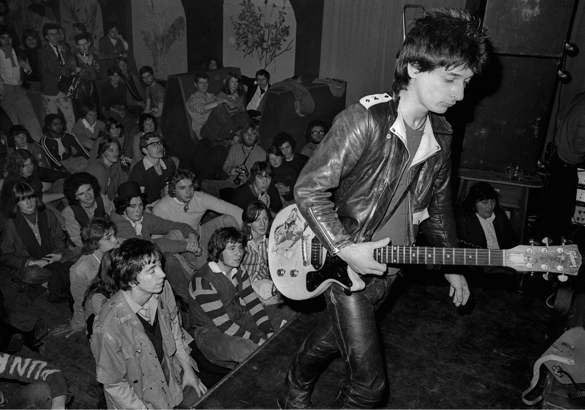 Johnny Thunders, Anarchy Tour - 1976
