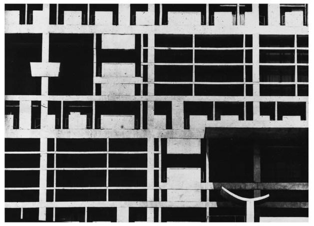 Secrétariat, Chandigarh, Inde (architecte : Le Corbusier) 1961 Lucien Hervé