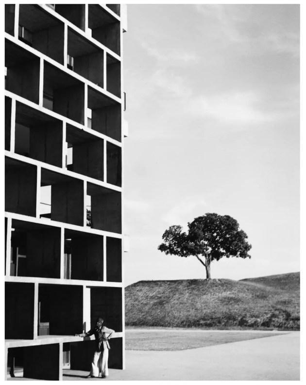 Haute Cour, Chandigarh, Inde (architecte : Le Corbusier) 1955 Lucien Hervé