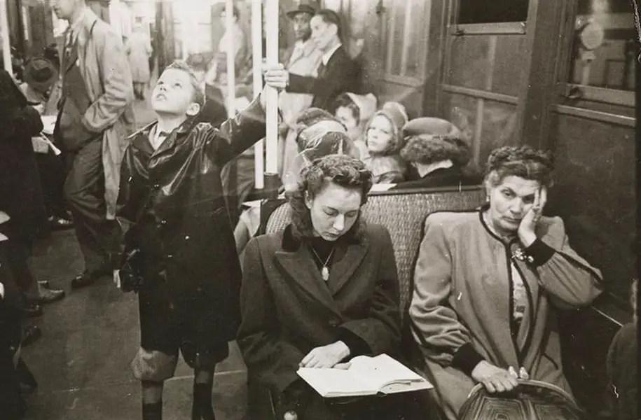 Staley Kubrick New York Subway 1949