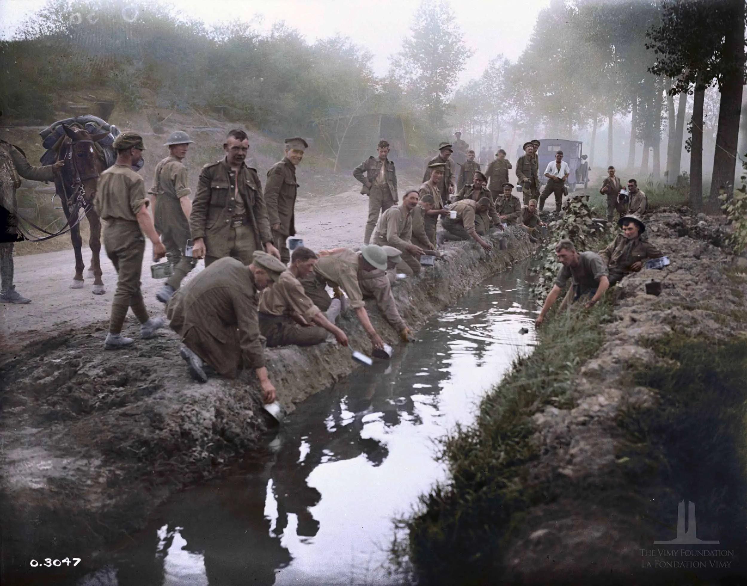 World War 1 In Color Canada S War