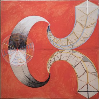 Image result for cosmic spiral hilma af klint painting