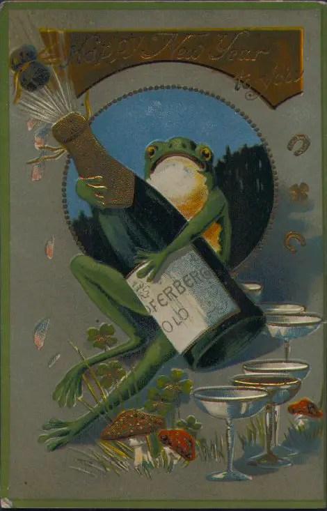«С новым годом тебя» (1908)