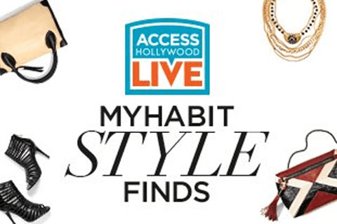 Myhabit Style Finds On Access Hollywood Live 4 28 16 Deal Flash