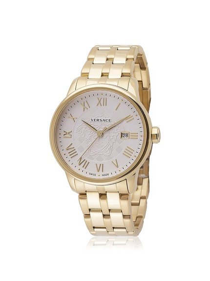 2bee4ff4730 60% Off Versace VQS060015 Business Stainless Steel Watch Deal ...