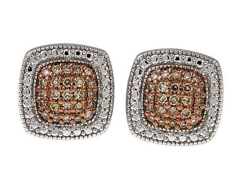 white earrings crown designer colored stud diamond ear