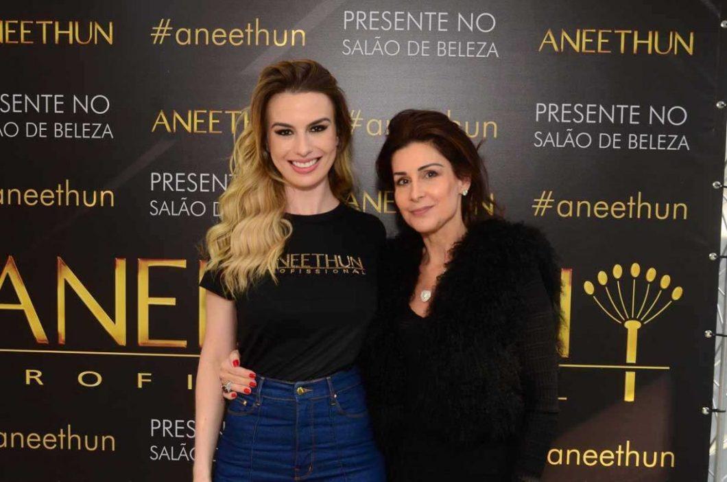 Fernanda Keulla e Tereza Cury