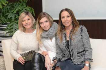 Veronica e Manuela Anastacio Bertocci e Ana Maria Ramires