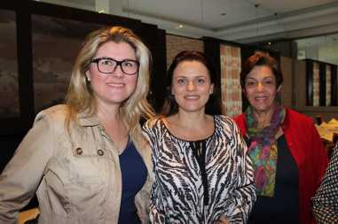 Luciana Madalosso, Lizandra Mascotto e Nair Babler