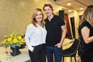 Silvia Vinhas e Fernando Peixe