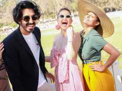 Dev Patel, Kate Hudson and Tracee Ellis Ross