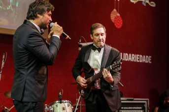Léo Chaves e o empresário Alê Costa da Cacau Show