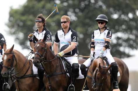 Nacho Figuare, Prince Harry Duke of Sussex and Ashley van Metre