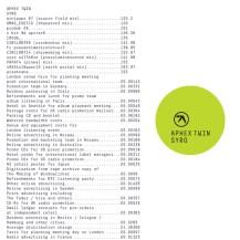 20. Aphex Twin - Syro