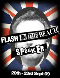 Flash on the Beach Speaker