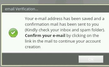 Jamb profile confirmation email