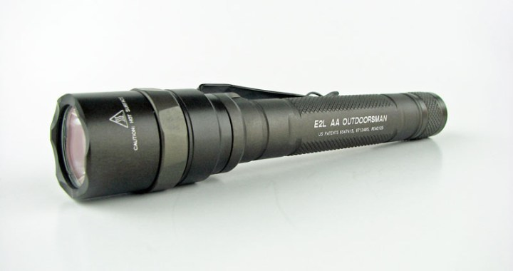 Review Surefire E2laa A Outdoorsman Flashlightguide
