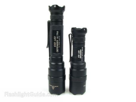 SureFire E1D LED Defender and E2D LED Defender Ultra