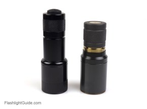 Zero Rez Shorty upgrade for SureFire Z41 tailcap