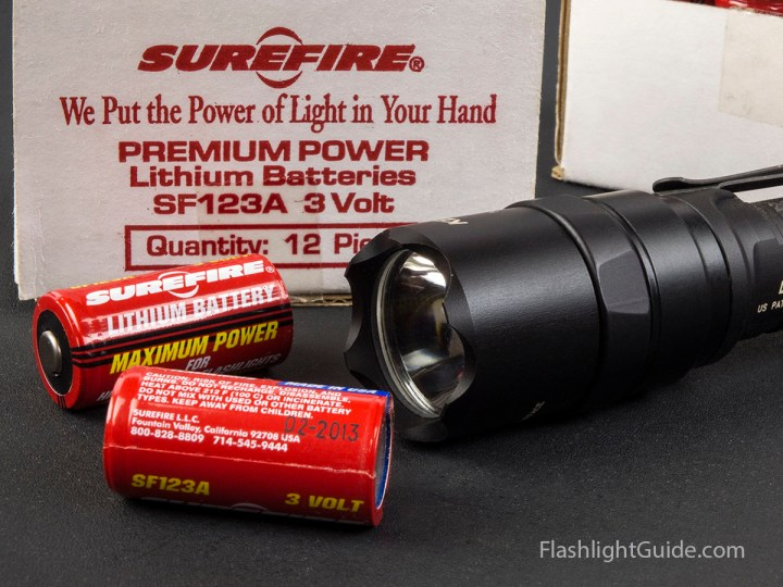 SureFire 123A Battery Testing