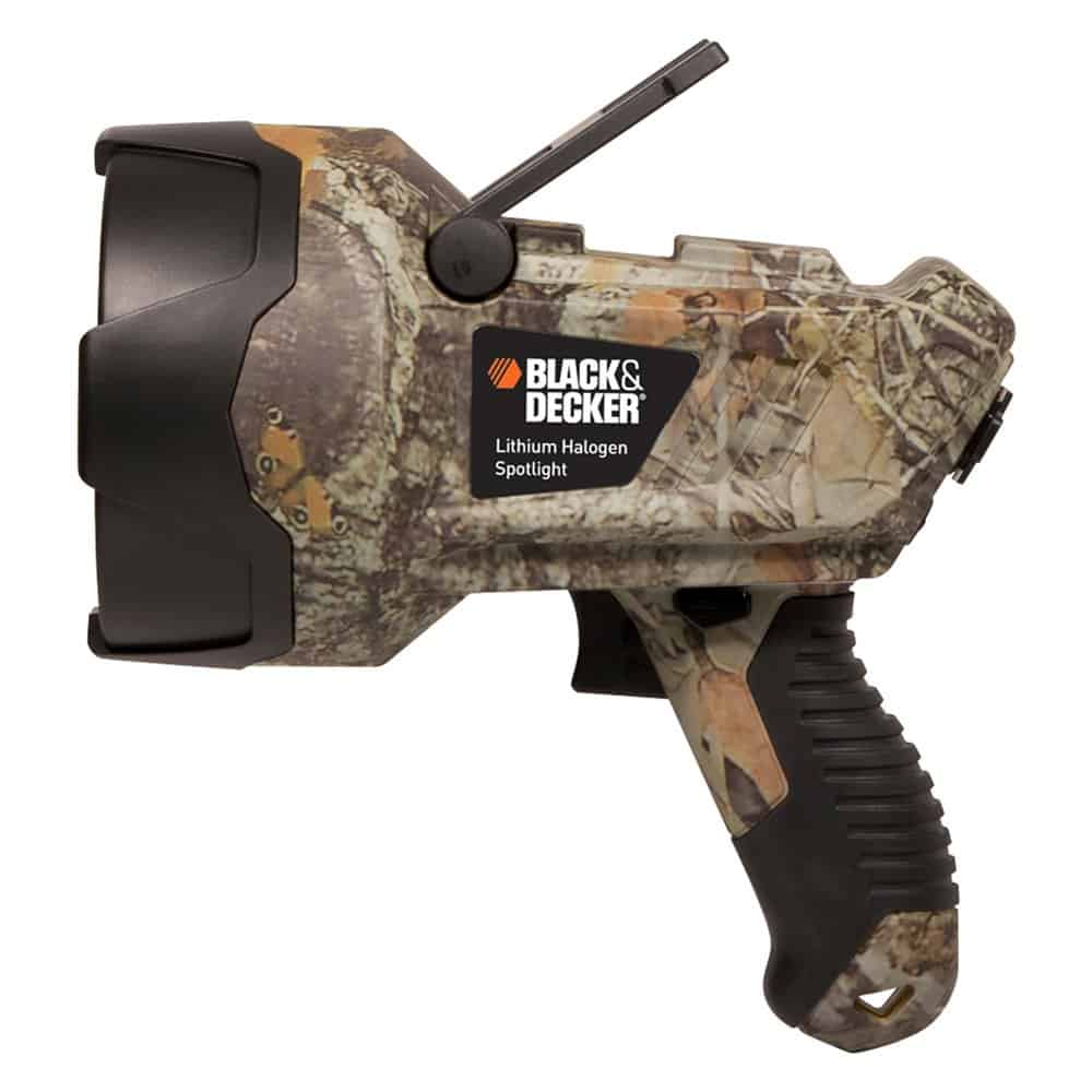Black & Decker LIONHALBC Camouflage Lithium Ion Halogen Spotlight