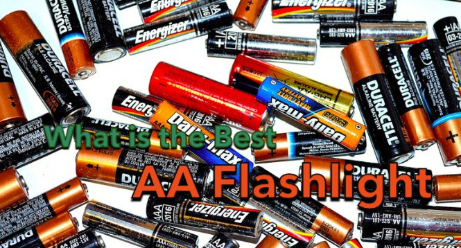 aa flashlight