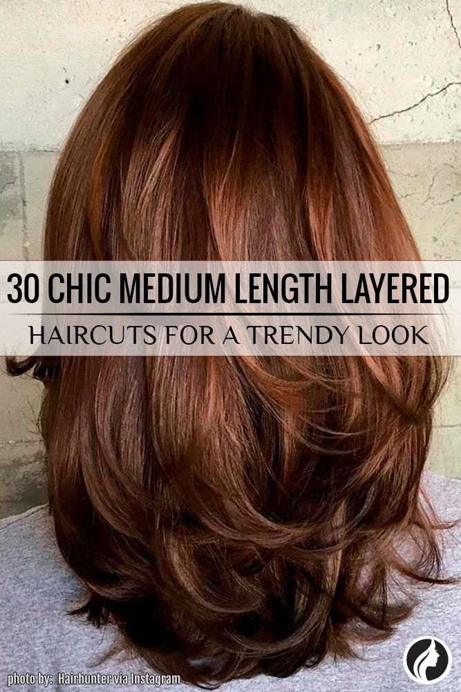 Best Hairstyles  Haircuts for Women in 2017  2018  Medium length layered haircuts are a