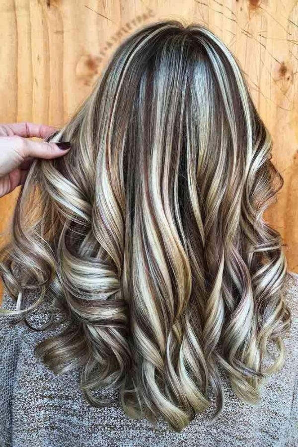 30 Color Brown With Blonde Highlights Hairstyles Hairstyles Ideas