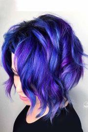 hair color 2017 2018 - dark purple