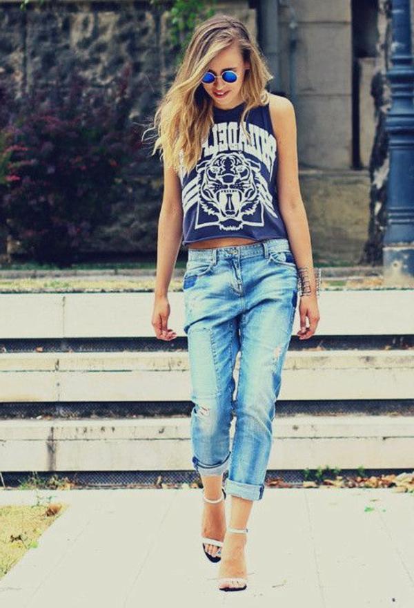 jean-taille-haute-feminine-boyfriend-jeans-casuel-et-stylé