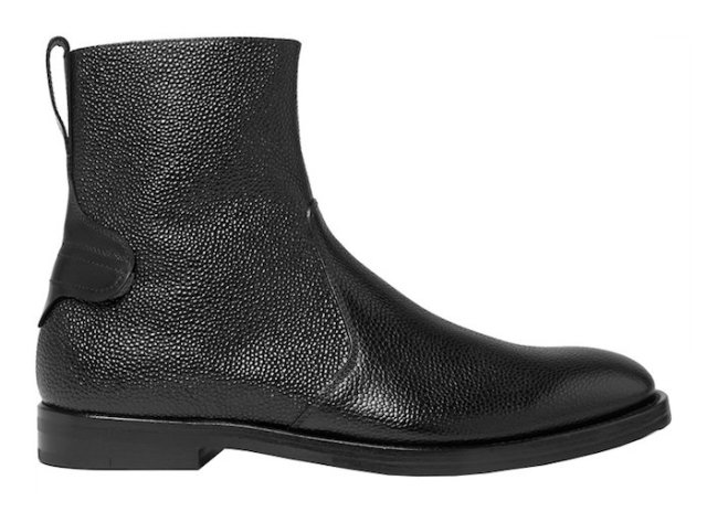 boots homme Ankle cuir gros grain McCaffrey noir