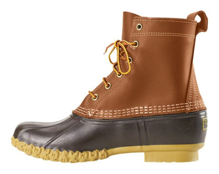 bottes cuir homme The Original Duck par ll Bean