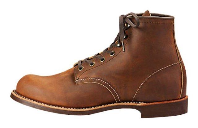 Work Boots Blacksmith Red Wing bottine homme bottines chelsea vintage
