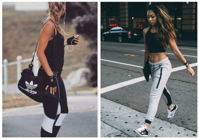 Les vêtements de sport