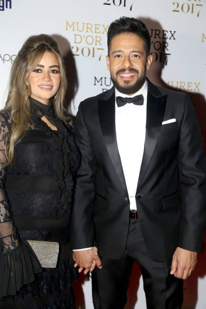 look de Mohammad Hamaki sur tapis rouge