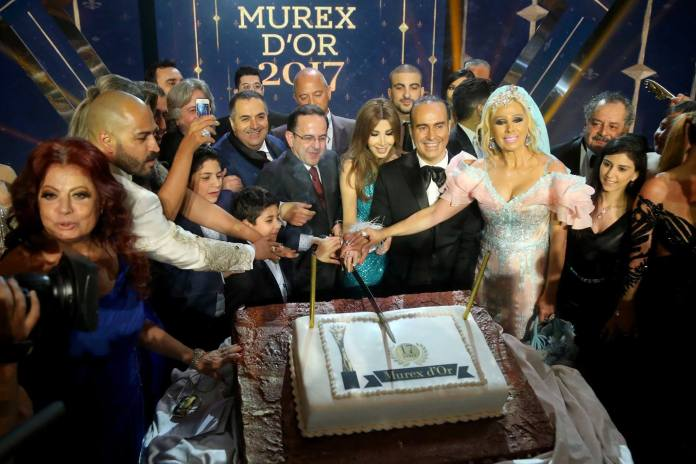 Murex d'or 2017 - ceremonie au casino du liban