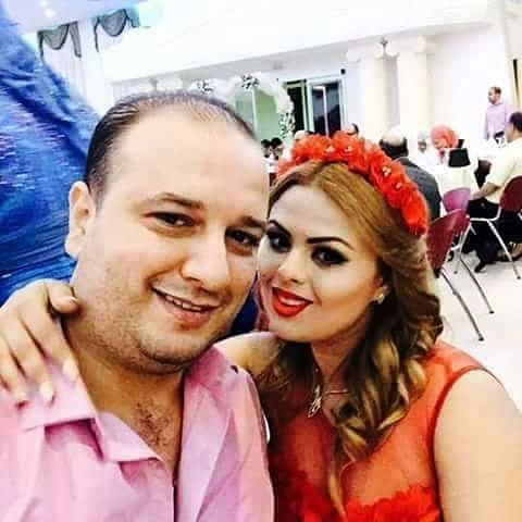 L'actrice Yosra manaii avec son mari
