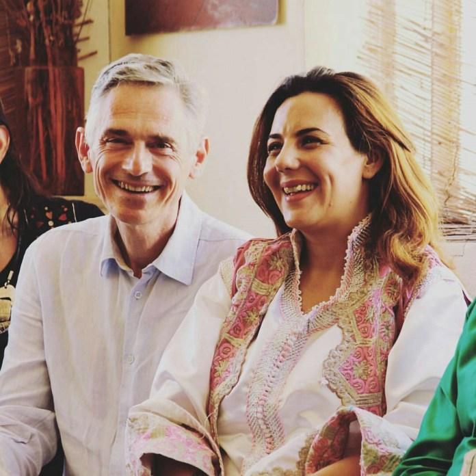 Stars Tunisiennes - Wahida dridi avec son mari
