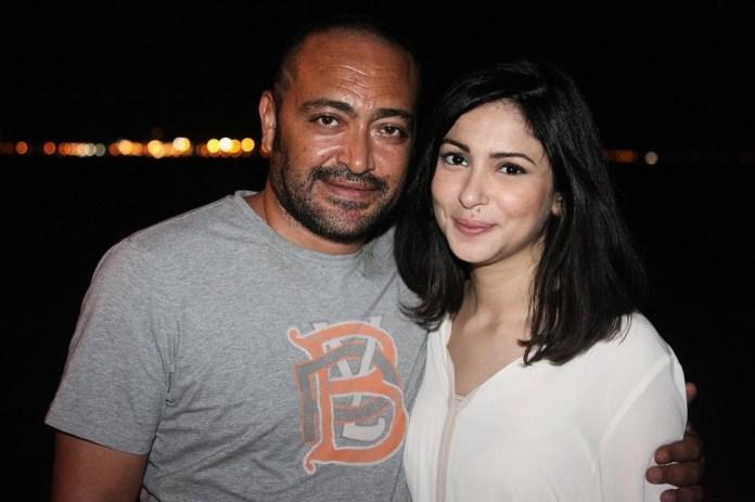 Stars tunisiennes - Atef ben hassin et sa femme