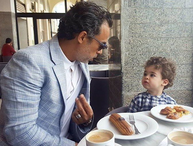 Stars tunisiennes - Dali Nahdi et son fils