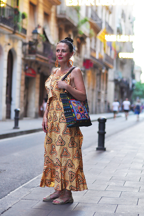 Street style pour femmes a Barcelone 2017