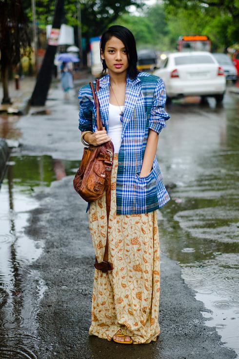 Tendance Street style pour femmes a Mumbai