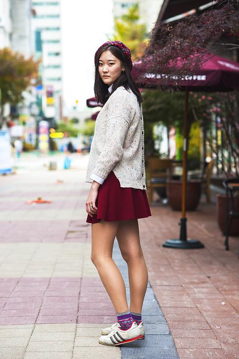 Tendance Street style pour femmes a Seoul 2017