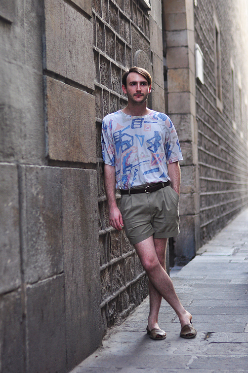 Tendance Street style pour hommes a Barcelone