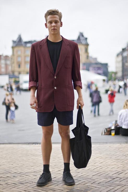 Street style pour hommes a Copenhague