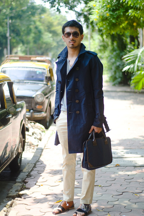 Tendance Street style pour hommes a Mumbai